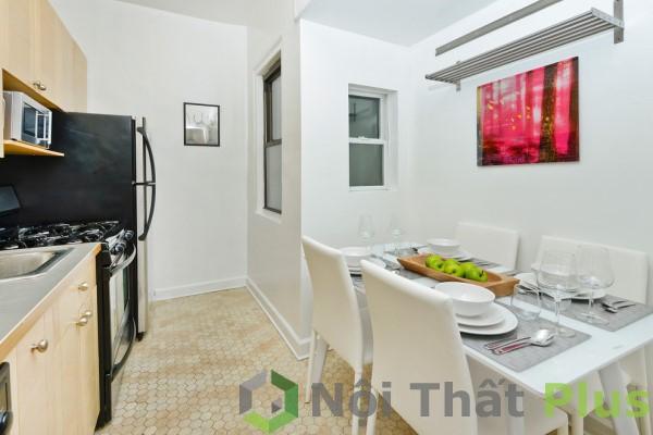Thiết kế nhà bếp cho căn hộ 3 phòng ngủ.