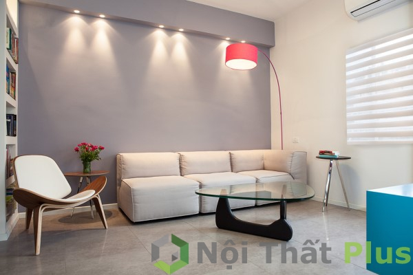 Nội thất phòng khách cho căn hộ có diện tích 90m2