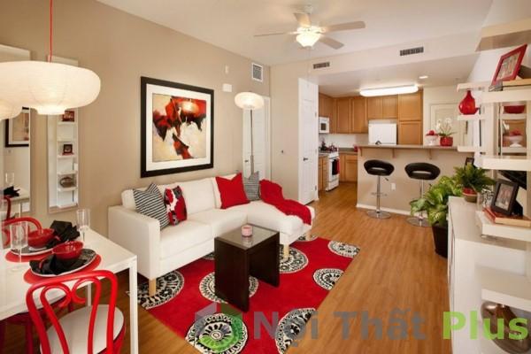 Thiết kế phòng khách cho căn hộ hiện đại