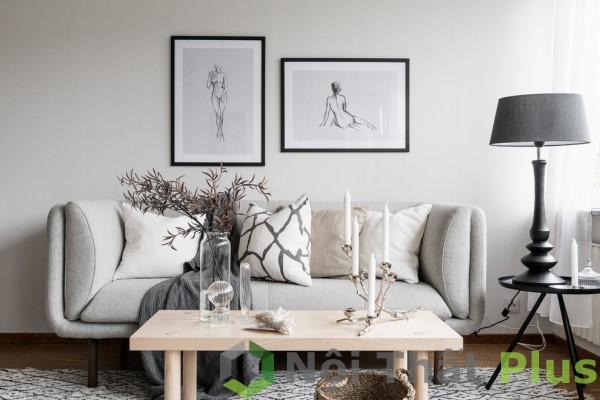 Thiết kế nội thất phòng ngủ cho căn hộ có diện tích 65m2