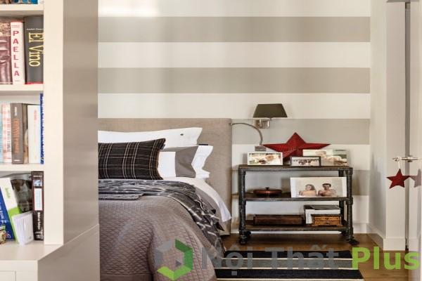 Thiết kế phòng ngủ cho căn hộ có diện tích 63m2.