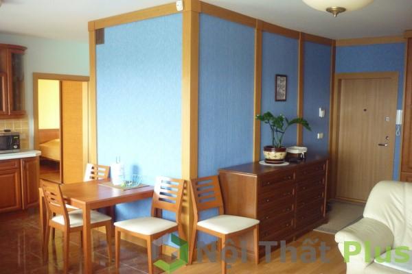 Không gian nội thất phòng khách cho căn hộ có diện tích 73m2