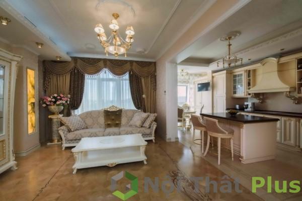 thiết kế phòng ngủ thiết kế cổ điển cho chung cư