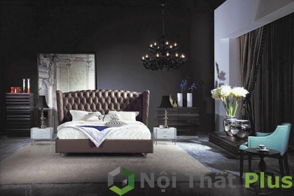 nội thất phòng ngủ cho căn hộ tân cổ điển