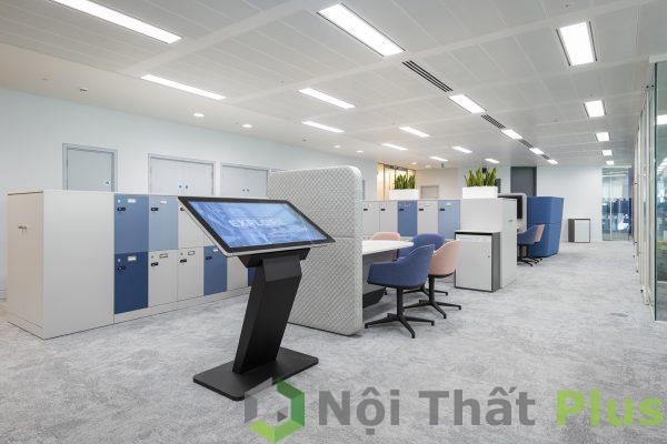 không gian phòng làm việc hiện đại