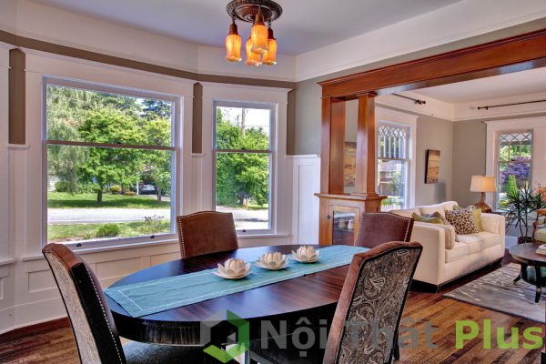 mẫu bàn ăn cho nội thất nhà 80m2