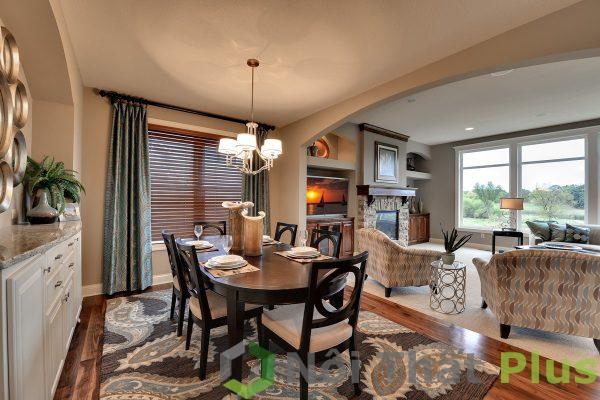 mẫu phòng ăn đẹp tinh tế cho nội thất biệt thự