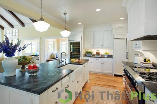 mẫu nội thất phòng bếp tân cổ điển số 4