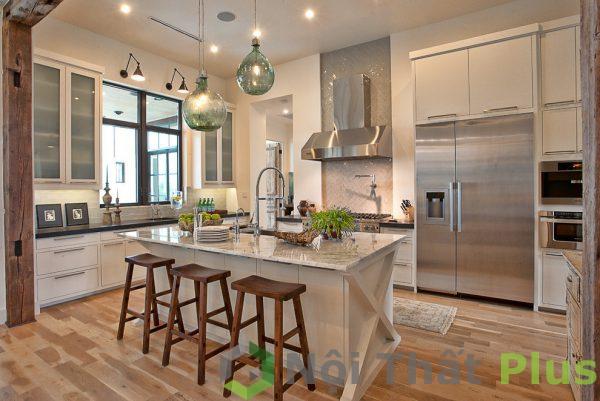 mẫu nội thất phòng bếp cổ điển số 12