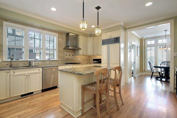 màu sắc đẹp cho nội thất phòng bếp