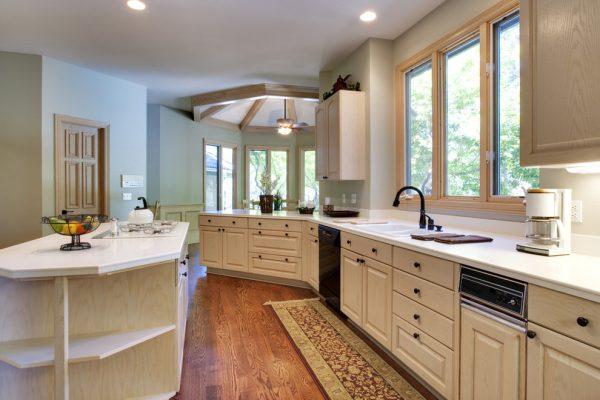 màu sắc nội thất phòng bếp theo phong cách