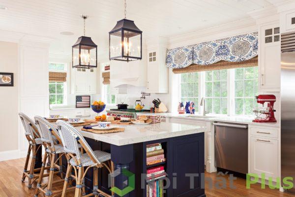 mẫu nội thất phòng bếp tân cổ điển số 9