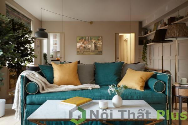 mẫu phòng khách cho nội thất chung cư