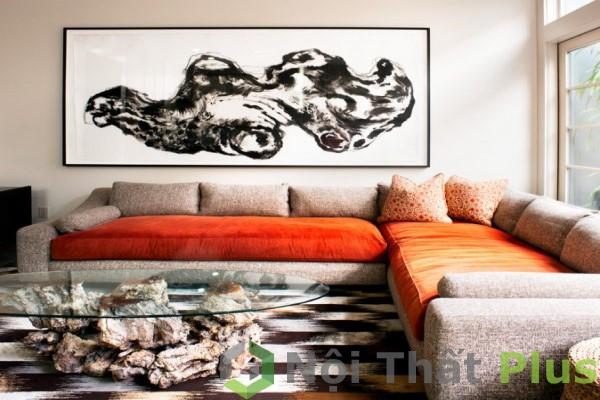 mẫu nội thất phòng khách hiện đại đơn giản