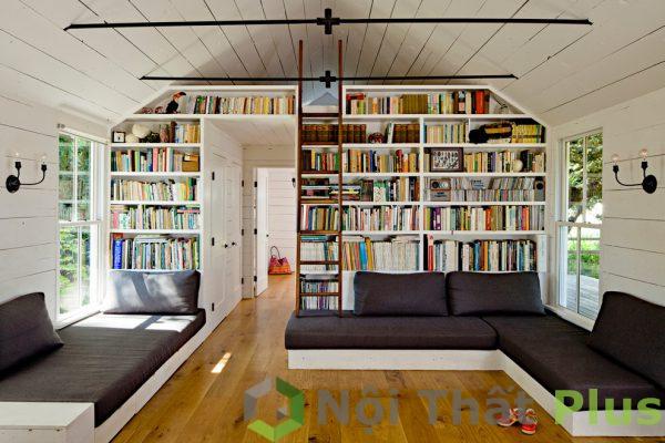 mẫu phòng khách cho nhà phố nhỏ 45m2
