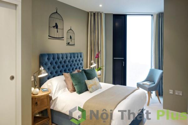 mẫu phòng ngủ hiện đại cho nội thát chung cư