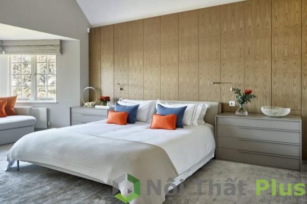 mẫu nội thất phòng ngủ diện tích 25m2