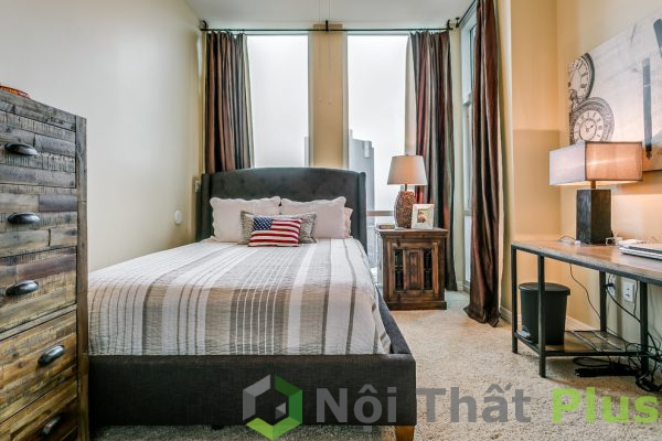 mẫu nội thất phòng ngủ đơn giản tràn ngập ánh sáng