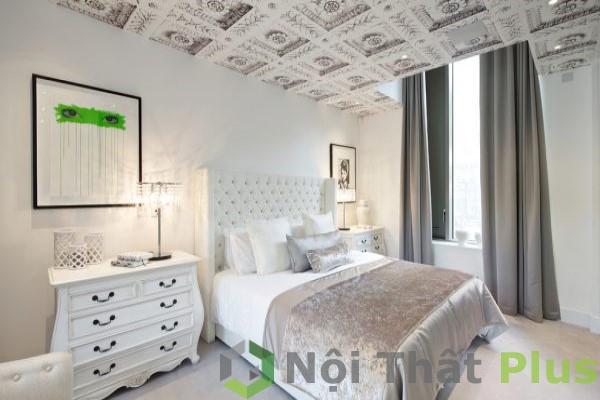 mẫu phòng ngủ đẹp tinh tế cho nội thất biệt thự