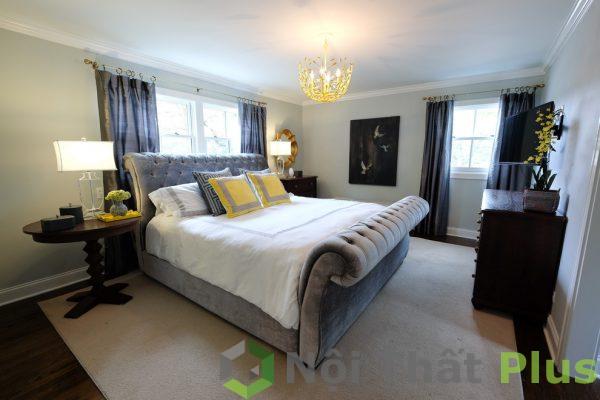 mẫu nội thất phòng ngủ cổ điển