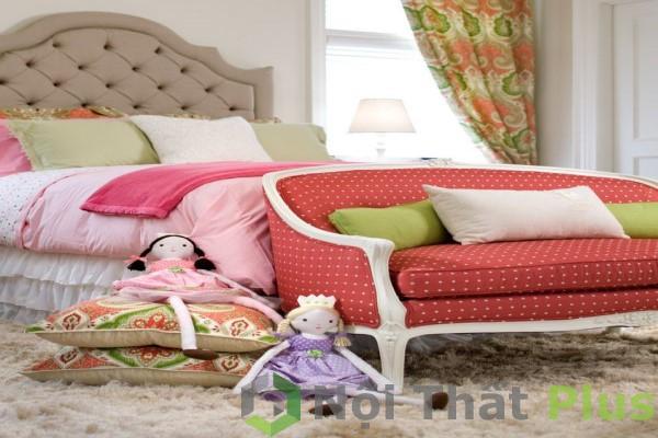 màu sắc đẹp để trang trí phòng ngủ bé gái