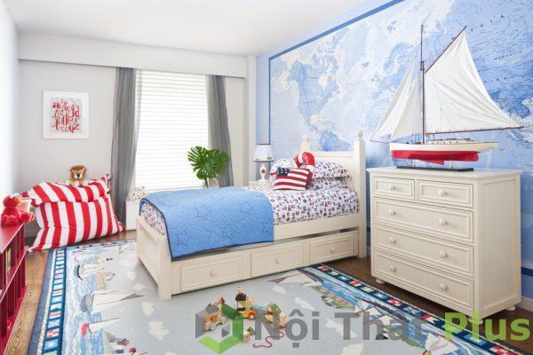 mẫu nội thất phòng trẻ năng động