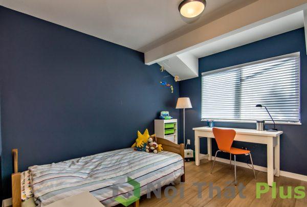 mẫu nội thất phòng ngủ đơn giản cho bé trai