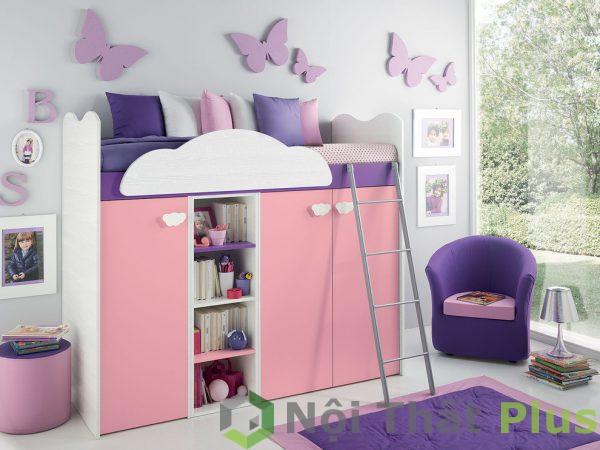 mẫu phòng ngủ thông minh cho trẻ