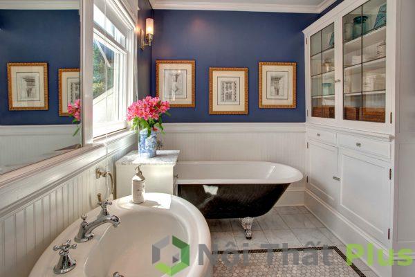 mẫu phòng tắm đẹp cho nội thất nhà 80m2