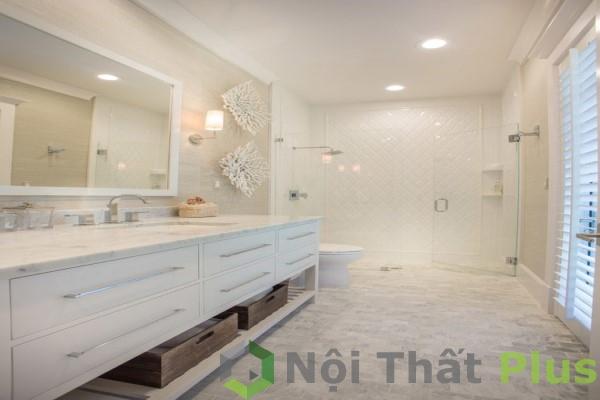 mẫu phòng tắm cho nội thất nhà phố 100m2