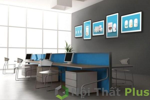 mẫu nội thất văn phòng phong cách trẻ trung