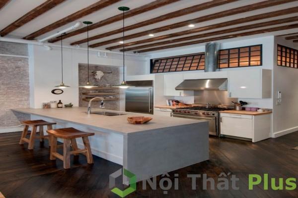 mẫu nội thất phòng bếp đơn giản mà đẹp