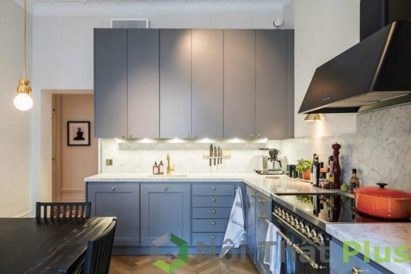 mẫu nội thất phòng bếp tân cổ điển số 15