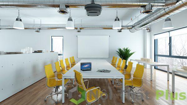 mẫu nội thất phòng họp thiết kế đầy đủ tiện nghi