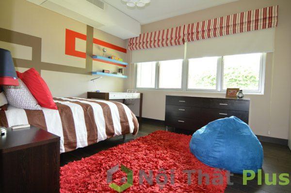 mẫu phòng ngủ đầy màu sắc cho trẻ