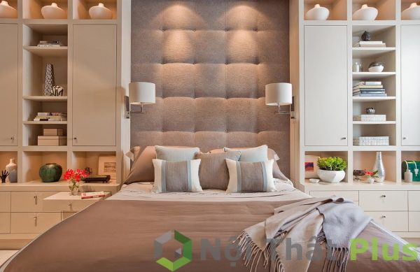 mẫu phòng ngủ sang trọng cho nội thất biệt thự