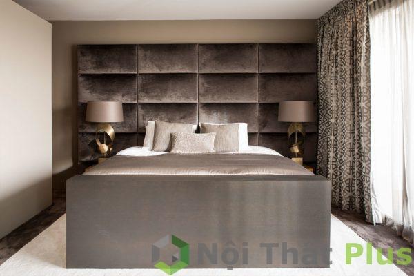 mẫu phòng ngủ hiện đại cho biệt thự