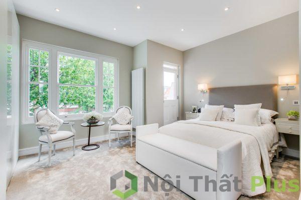 mẫu phòng ngủ tinh tế cho nội thất nhà phố