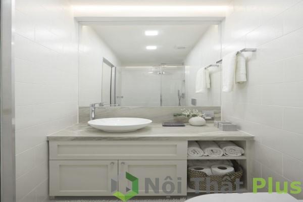 phòng tắm tiện nghi cho nội thất chung cư