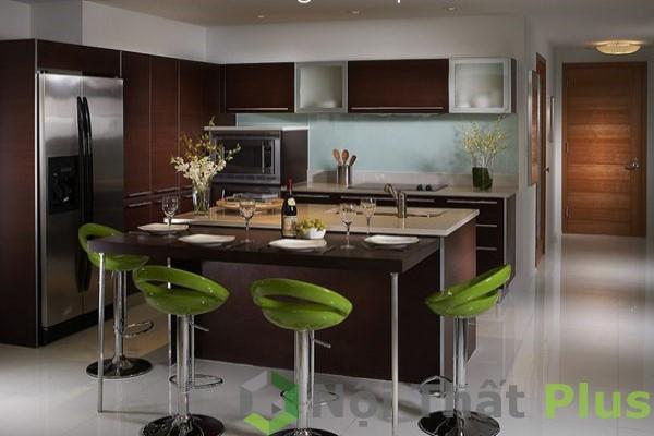 mẫu nội thất phòng bếp thông minh