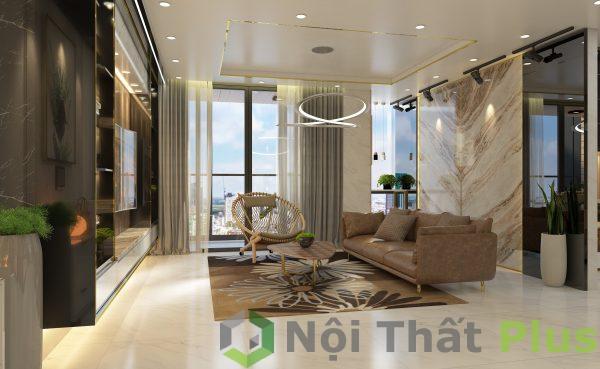 mẫu nội thất phòng khách chung cư