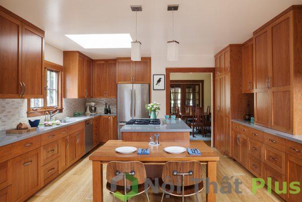 mẫu nội thất phòng bếp cổ điển số 13