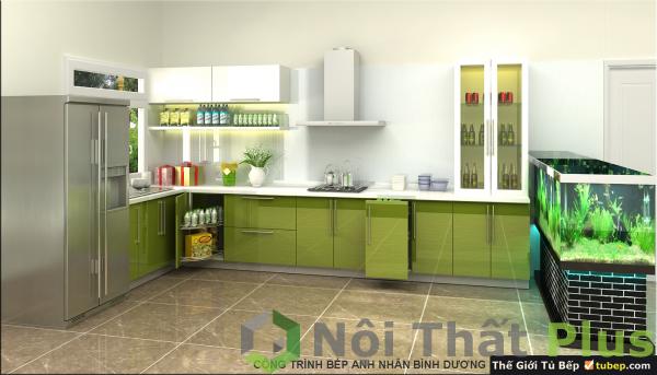 mẫu nội thất phòng bếp nhà anh nhân