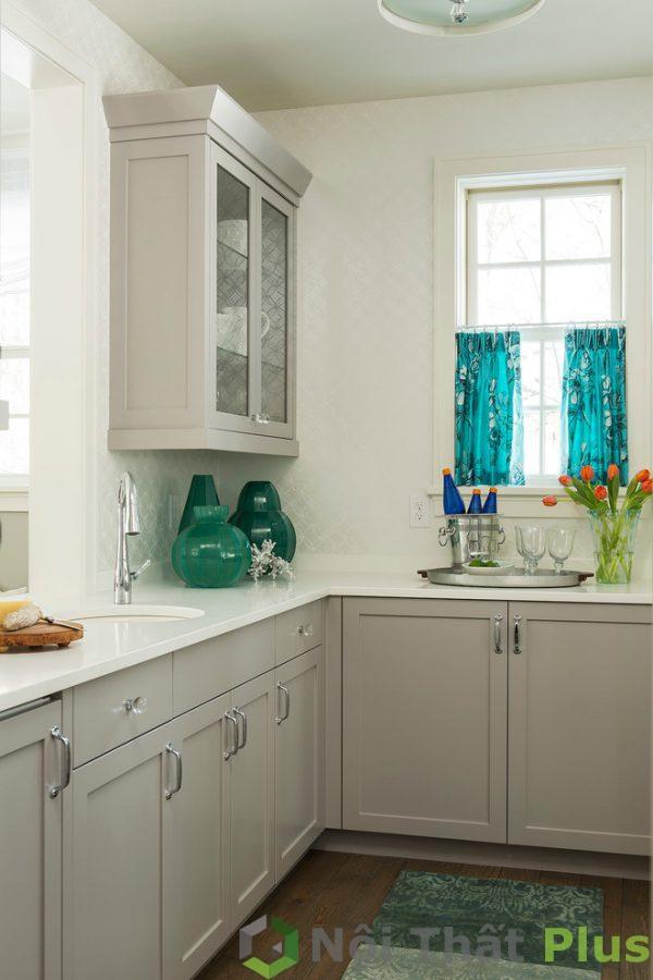 mẫu thiết kế phòng bếp phong cách tân cổ điển PBTCD002