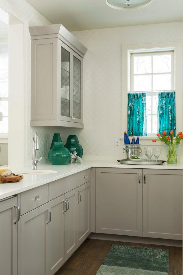 mẫu thiết kế phòng bếp đẹp phong cách tân cổ điển PBTCD002