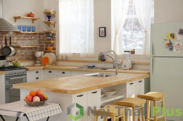 mẫu thiết kế nội thất phòng bếp tiện nghi PBHD001