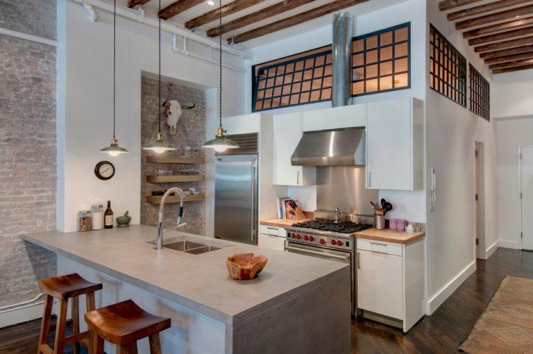 mẫu thiết kế nội thất phòng bếp nhỏ PBN008