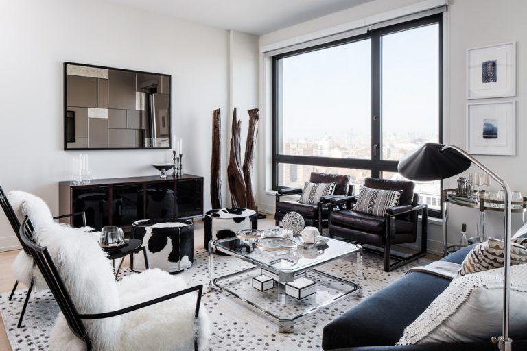 mẫu thiết kế phòng khách nhỏ rộng rãi, thoáng mát