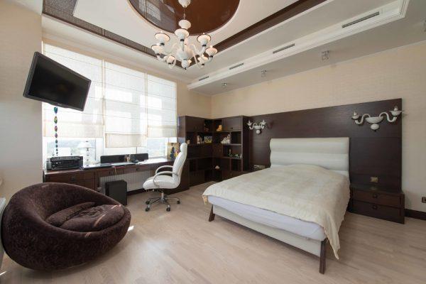 thiết kế không gian nội thất phòng ngủ PNPLV004