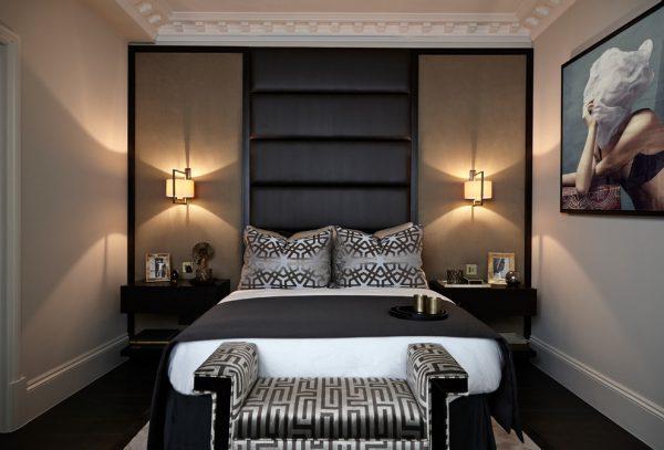 thiết kế nội thất phòng ngủ phong cách hiện đại hình 1